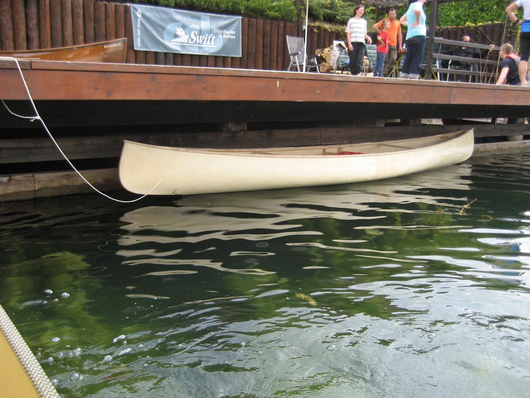 Gorewood 14' Solo Canoe - FLO-MOFlowing Motion